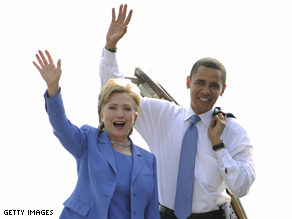 Obama and Clinton made a public display of unity last month.