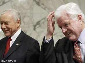 Kennedy and Hatch are longtime friends.