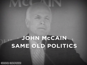 A new Obama ad hits back at McCain.