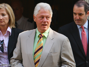 Bill Clinton made millions in 2007 off speeches.