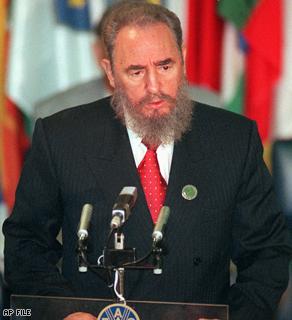 Fidel Castro, 1996