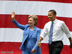 Associates of Clinton's say she remains skeptical that Obama can win in the fall.
