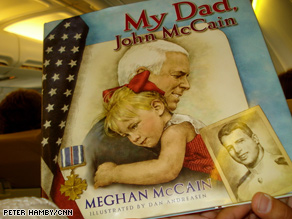 Reporters got a sneak peek at the new McCain children's book Wednesday.