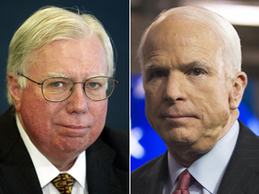 McCain isn&#039;t commenting on Corsi&#039;s new book.