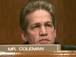 Coleman faces a tough re-election race.