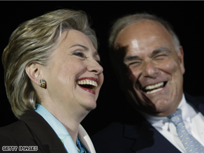 Rendell says he's voting for Clinton at the convention.