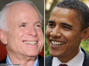 Sens. McCain and Obama traded swipes over patriotism Tuesday.