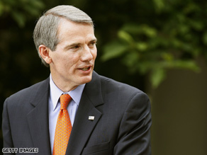 Rob Portman played the part of Obama in McCain&#039;s debate prep.