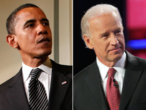 Obama praised Biden Tuesday.