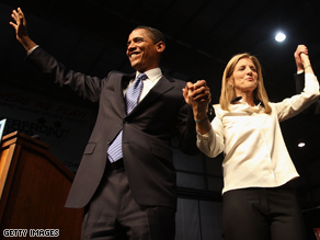 Caroline Kennedy is heading up Obama's VP search.