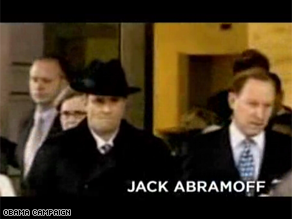 Obama&#039;s campaign is out with a tough new campaign ad featuring Jack Abramoff.