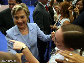Hillary Clinton on Wednesday did not rule out a 2016 presidential run.