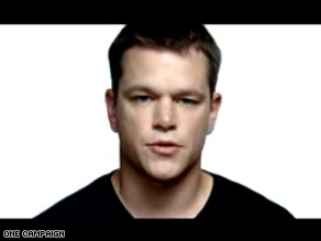Matt Damon stars in the ONE Campaign's latest ad 'Voices'.