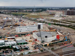London's Olympic park will transform the city's east.