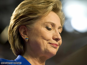 Hillary Clinton first found out she would not be Barack Obama's VP through an associate, an Obama aide said.