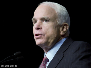 John McCain praised Barack Obama's VP pick, saying he considers Joe Biden a 'good friend.'