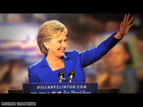 Clinton is the star of a new McCain campaign ad.