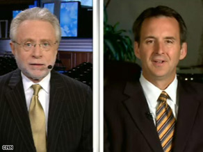 Minnesota Gov. Tim Pawlenty told CNN&#039;s Wolf Blitzer that the Republican VP candidate will be able to handle Joe BIden.