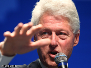  Bill Clinton would rather discuss economic issues than national security, sources say.