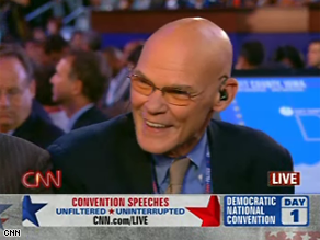 Carville says the Democrats are hiding the party&#039;s message.