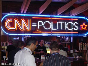 A look inside the CNN Grill.