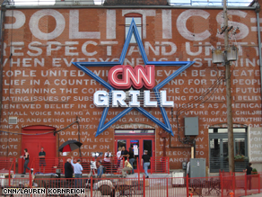 The CNN Grill is hopping.