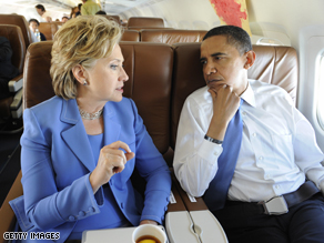 The Washington Post reports that some of Clinton's top advisers will be absent for Obama's speech on Thursday.
