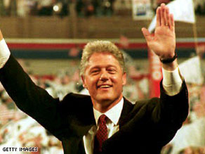 Bill Clinton back in 1992.
