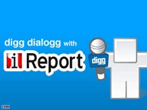 iReport and Digg Dialogg are teaming up.