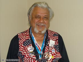 Steven Ybarra attends the convention in Denver.
