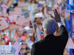 President Bill Clinton at the DNC last night.