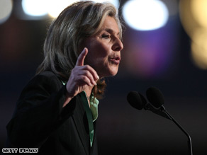 Senator Boxer spoke on the second day of the Democratic National Convention.