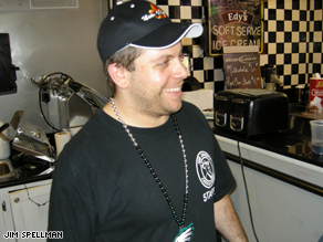 Eric Cohen owns Mister Chubby's Cheesesteaks in New Orleans