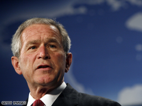 President George W. Bush will address the RNC via satellite from the White House.