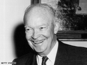"At the 1964 RNC, former President Eisenhower criticized ""sensation-seeking columnists and commentators."