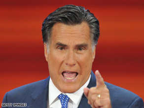 Former Republican presidential candidate Mitt Romney spoke at the RNC earlier this evening.
