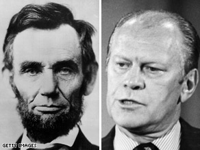 Huckabee mistakenly attributed a Gerald Ford quote from 1974 to Abraham Lincoln.