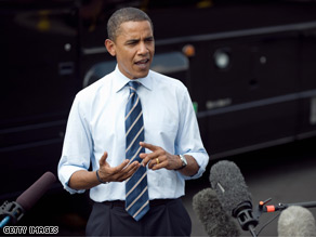 Sen. Obama spoke with reporters Thursday about attacks leveled against at the GOP convention.