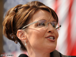 Palin's position on stem cell research is at odds with McCain's.