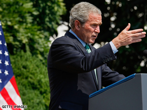 President Bush is praising Palin as the VP Pick.