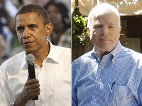 Sens. Obama and McCain are separated by a margin of just one point in Wednesday's CNN poll of polls.