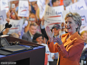 Clinton is hitting the campaign trail for Obama on Monday.