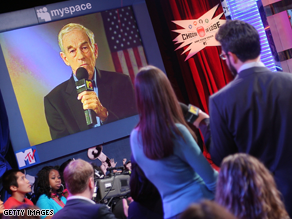 Ron Paul is urging his supporters to pick a third party candidate.