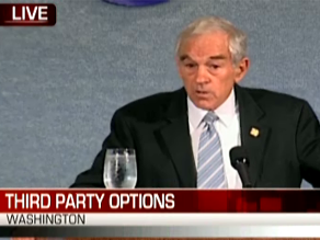 Watch Ron Paul address the National Press Club.