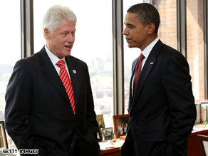 Bill Clinton and Barack Obama have released a joint statement.