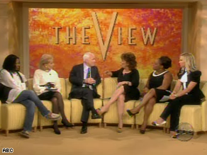 Sen. John McCain was a guest on &#039;The View&#039; Friday.