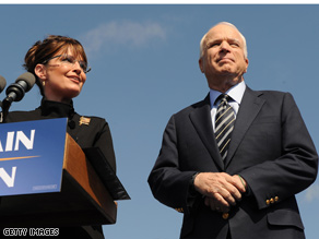 McCain and Palin will hold joint events in key states.