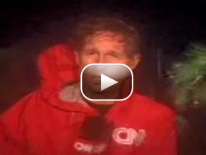 Watch CNN's Gary Tuchman in Galveston, Texas, where the eye of Hurricane Ike passed.