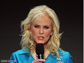 Cindy McCain criticized media coverage of the campaign.