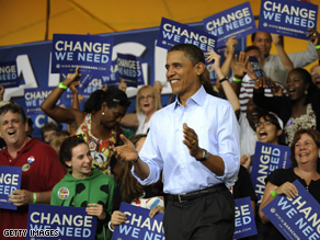 Obama set a new fundraising record in August.